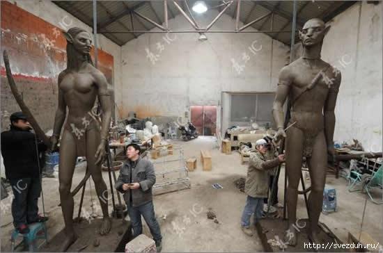 скульптуры аватар
