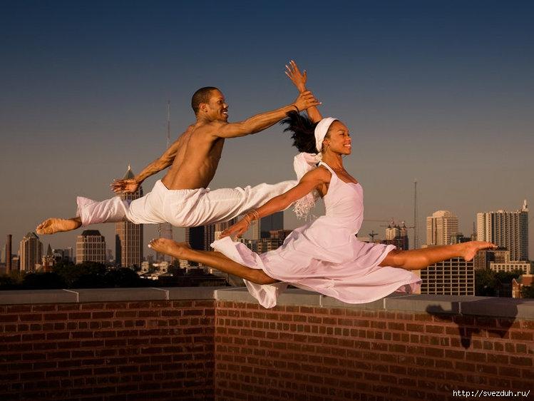 танецы в большом городе