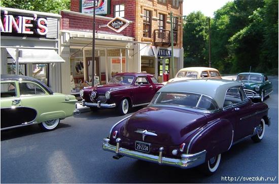 модели ретро автомобилей