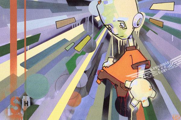 Работы Майка Шиноды из группы Linkin Park.