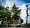 [+] Увеличить - Сынковичи. Церковь-крепость Св. Михаила Архангела, XVI в.