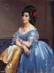 Amy Winehouse как принцесса Альбер де Бройля от французского художника Ingres.