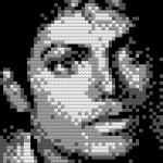 Портрет Майкла Джексона из Lego.
