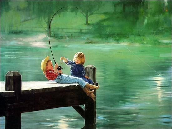 у рыбака есть братья и сестра