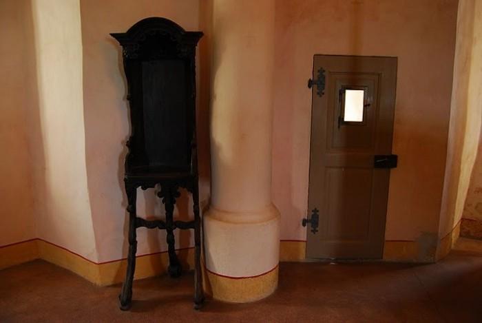 Burg Stolpen-вид внутри 42046