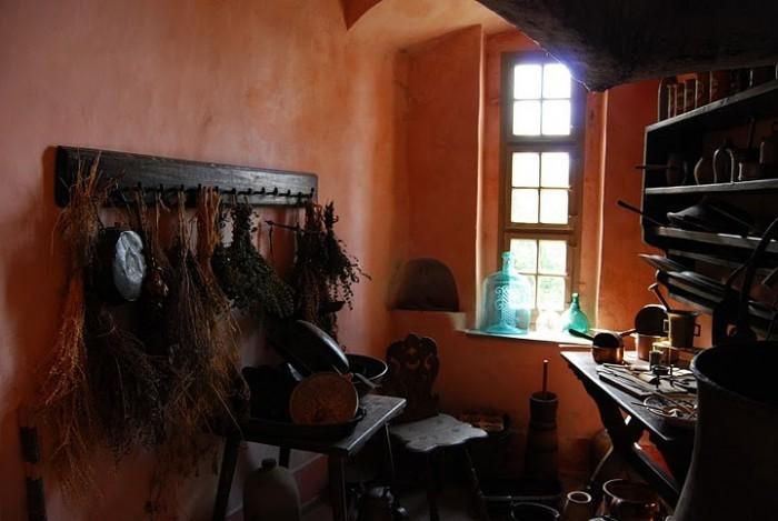Burg Stolpen-вид внутри 91423