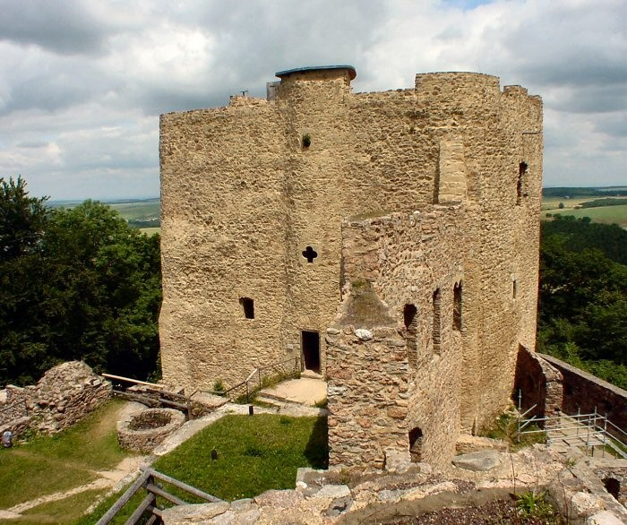 Руины Фрауенстайн, саксония - Burg Frauenstein 71006