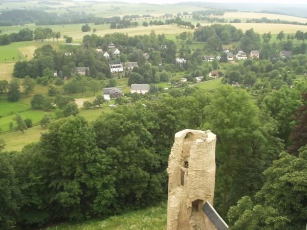 Руины Фрауенстайн, саксония - Burg Frauenstein 54976