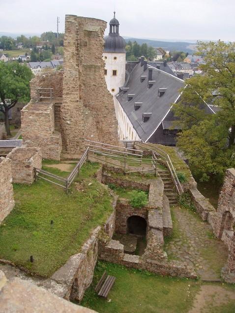Руины Фрауенстайн, саксония - Burg Frauenstein 45821