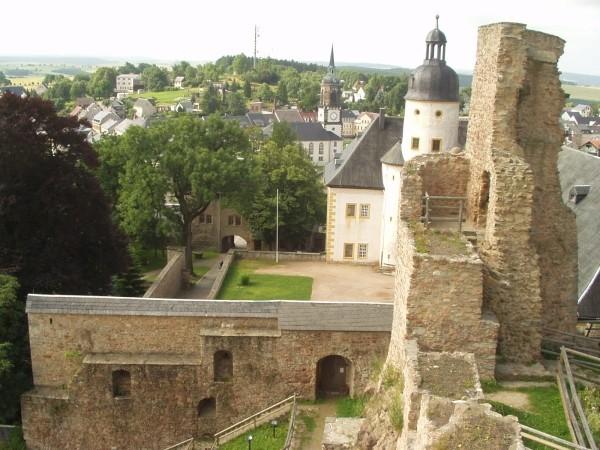 Руины Фрауенстайн, саксония - Burg Frauenstein 51662
