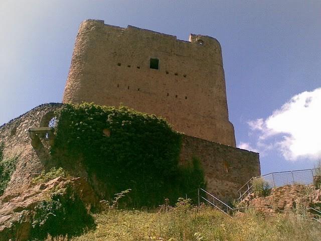 Руины Фрауенстайн, саксония - Burg Frauenstein 34672