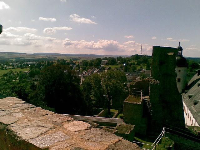Руины Фрауенстайн, саксония - Burg Frauenstein 44369