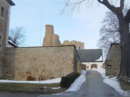 Руины Фрауенстайн, саксония - Burg Frauenstein 48574