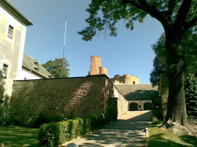 Руины Фрауенстайн, саксония - Burg Frauenstein 93291