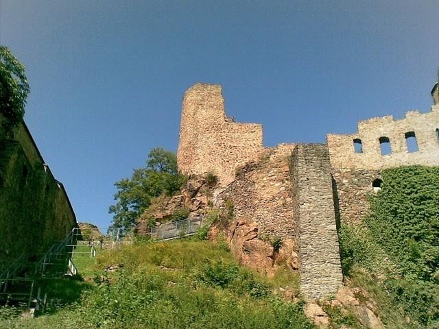 Руины Фрауенстайн, саксония - Burg Frauenstein 43850