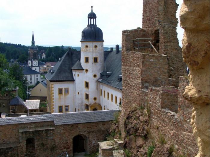 Руины Фрауенстайн, саксония - Burg Frauenstein 87402