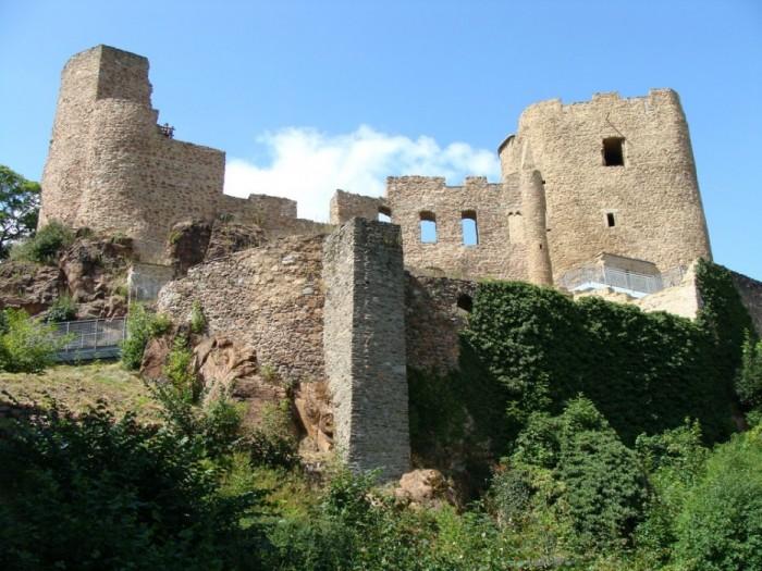 Руины Фрауенстайн, саксония - Burg Frauenstein 78025