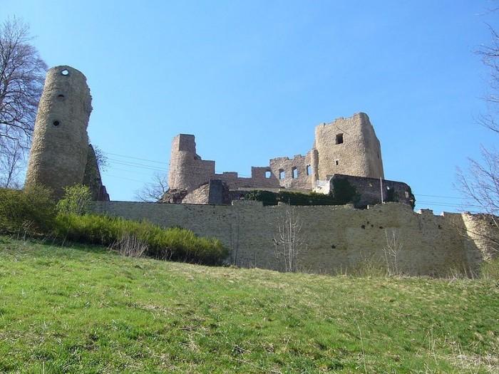 Руины Фрауенстайн, саксония - Burg Frauenstein 80424