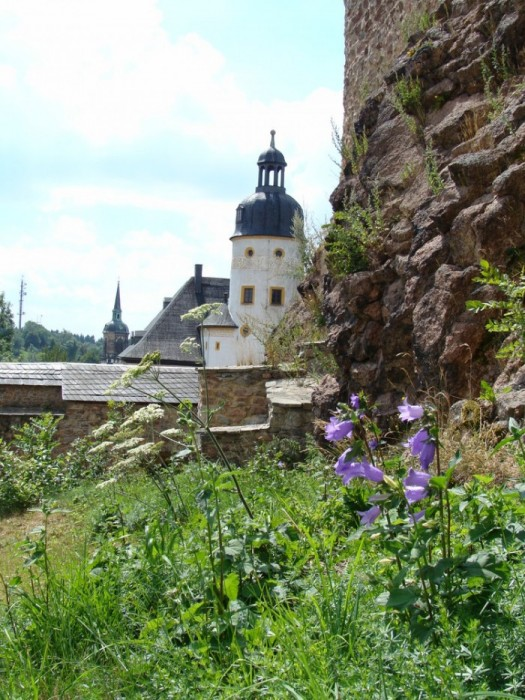 Руины Фрауенстайн, саксония - Burg Frauenstein 97630