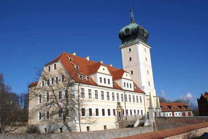Крепость Делич (нем. Burg Delitzsch) 55754