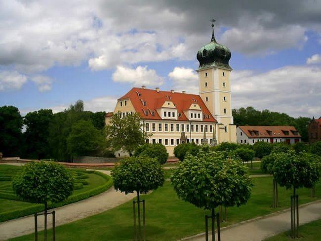 Крепость Делич (нем. Burg Delitzsch) 11604