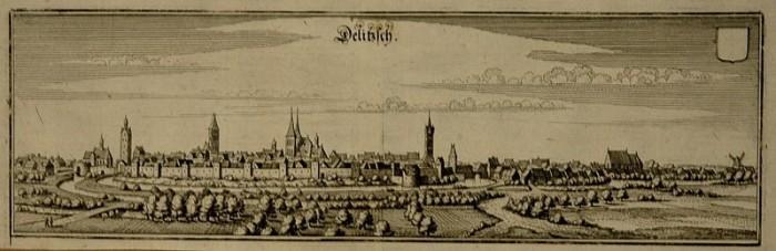 Крепость Делич (нем. Burg Delitzsch) 75538