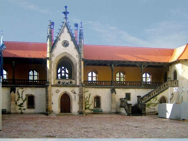 Крепость Альбрехтсбург (нем. Albrechtsburg) 10946
