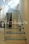 Лестница из стекла и стеклянные ограждения Маршаг(495)998-73-71. http://marshag.ru