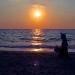 Закат на море. И я.