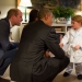 #7 President Barack Obama With First Lady Michelle Obama Meets Prince George.