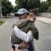 Диана внученька и я:)