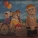 Оригинальное и самобытное творчество Кязима Джеппарова поражает с первых же увиденных работ.