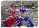 [+] Увеличить - выступление с южно-индийским танцем в Белгород-Днестровской крепости.