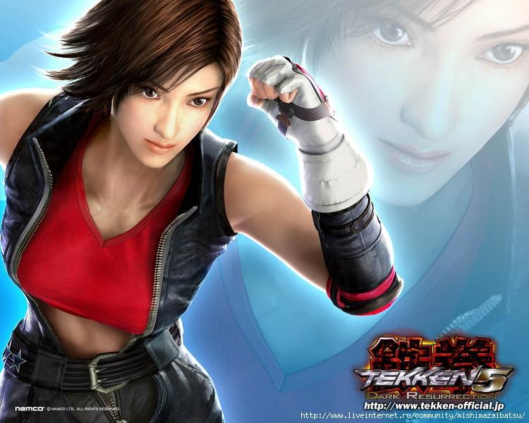 Asuka Kazama из Tekken