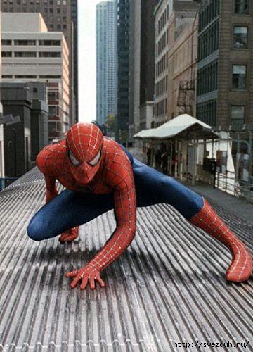 человек паук нью йорк