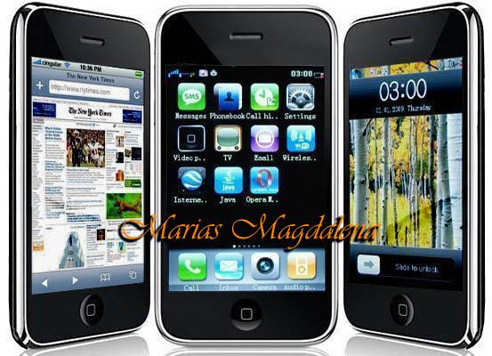 iPhone j2000 китайский копия 3G. iPhone китайский обзор телефона.