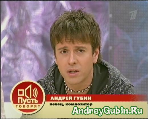 Андрей Губин биография, фото сейчас, личная жизнь Губина ...