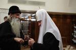 С митрополитом Корнилием, главой Русской Православной Старообрядческой Церкви.