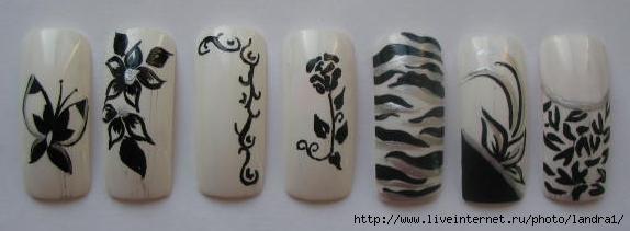 узоры для ногтей