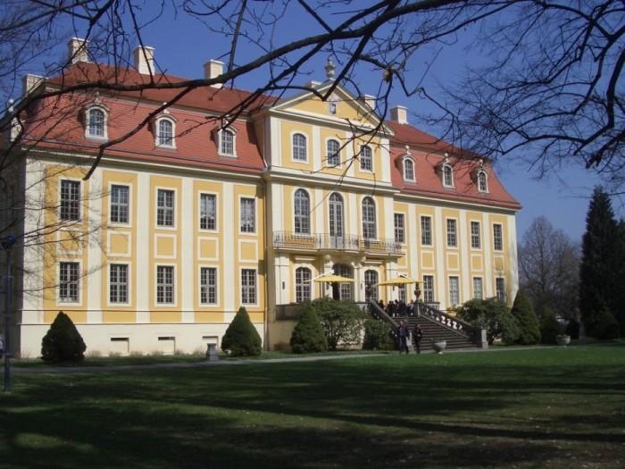 Замок Рамменау (нем. Barockschloss Rammenau) 77801