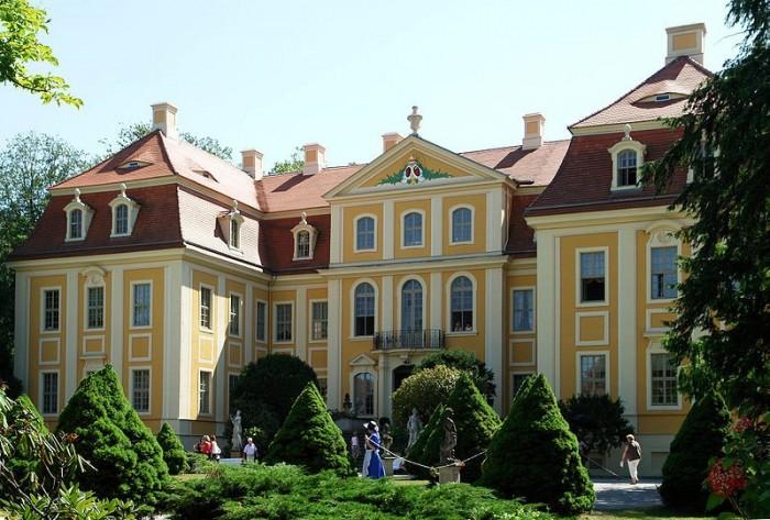 Замок Рамменау (нем. Barockschloss Rammenau) 24534