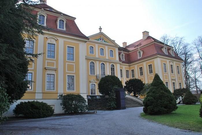 Замок Рамменау (нем. Barockschloss Rammenau) 94477