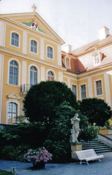 Замок Рамменау (нем. Barockschloss Rammenau) 87888