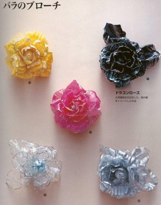Картинки из пластиковых бутылок цветы 5