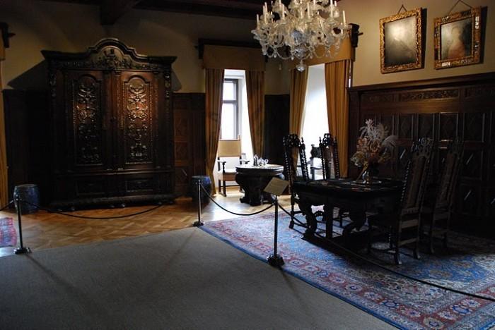 Крепость Крибштайн (нем. Burg Kriebstein) 76348