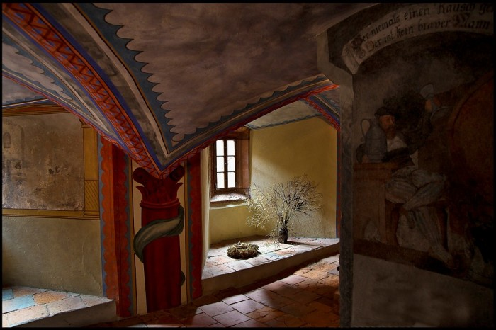 Крепость Крибштайн (нем. Burg Kriebstein) 33607
