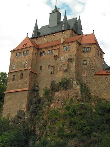 Крепость Крибштайн (нем. Burg Kriebstein) 29409