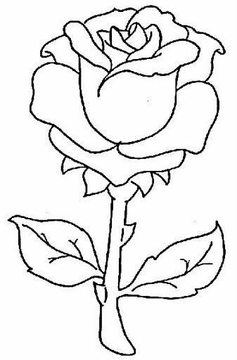 coloring pages to print and color: flower pictures