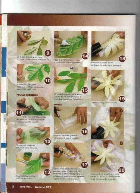 Как сделать цветы из пластиковых бутылок для клумб 463