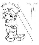 Детский английский алфавит